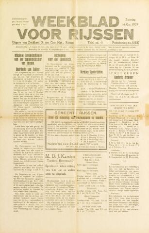Weekblad voor Rijssen 1939-10-14