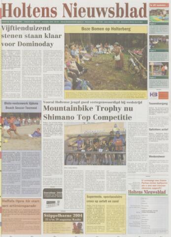 Holtens Nieuwsblad 2004-08-19
