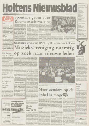 Holtens Nieuwsblad 1987-11-12