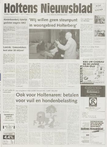 Holtens Nieuwsblad 2001-03-08