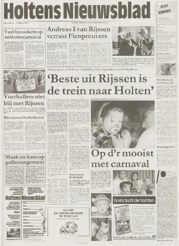 Holtens Nieuwsblad 1997-02-13