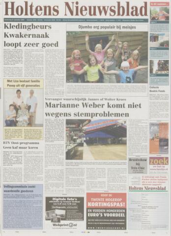 Holtens Nieuwsblad 2005-09-08