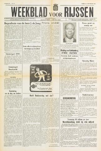 Weekblad voor Rijssen 1960-09-09