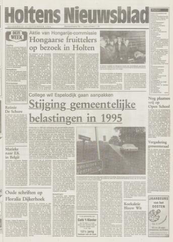 Holtens Nieuwsblad 1994-09-22