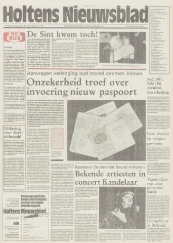 Holtens Nieuwsblad 1987-12-03