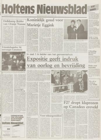 Holtens Nieuwsblad 1995-05-04
