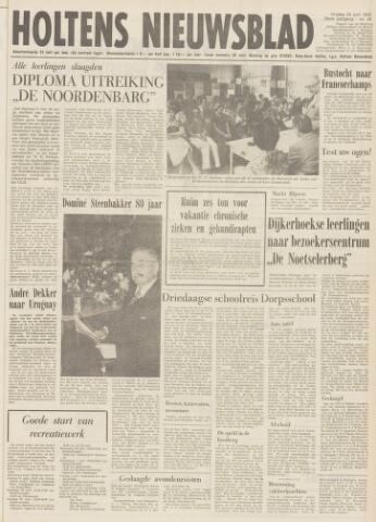 Holtens Nieuwsblad 1976-06-25