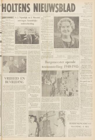 Holtens Nieuwsblad 1970-05-01