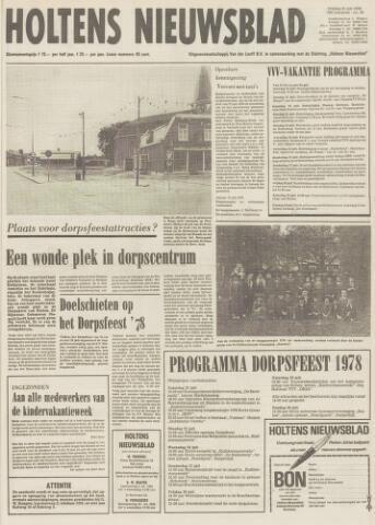 Holtens Nieuwsblad 1978-07-21