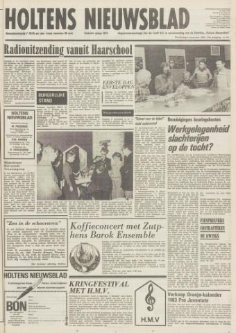 Holtens Nieuwsblad 1982-11-04