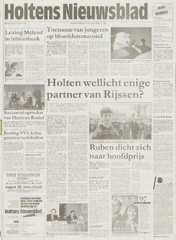 Holtens Nieuwsblad 1997-03-13