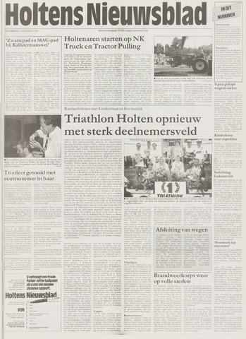 Holtens Nieuwsblad 1996-08-08