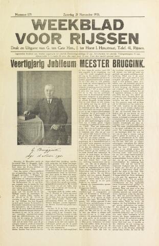 Weekblad voor Rijssen 1931-11-21