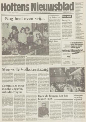 Holtens Nieuwsblad 1986-01-02