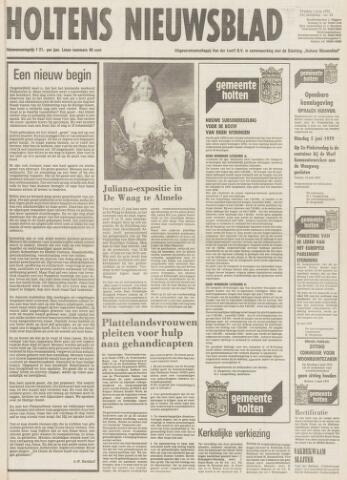 Holtens Nieuwsblad 1979-06-01