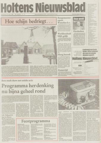 Holtens Nieuwsblad 1985-03-28