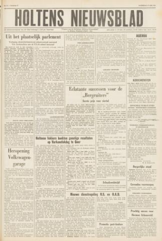 Holtens Nieuwsblad 1961-05-27