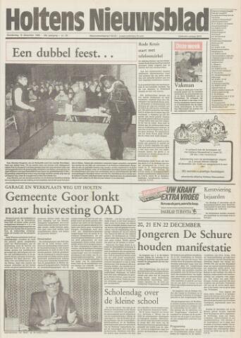 Holtens Nieuwsblad 1985-12-12