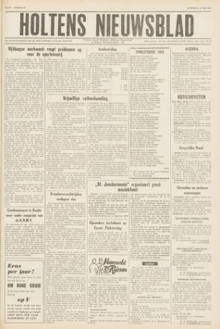 Holtens Nieuwsblad 1961-05-20