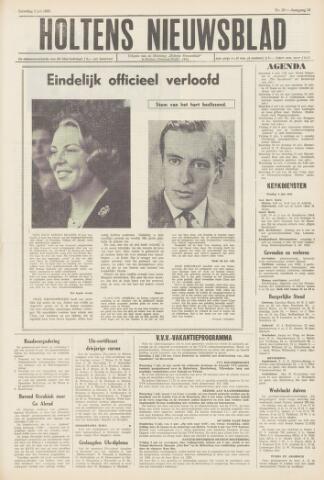 Holtens Nieuwsblad 1965-07-03