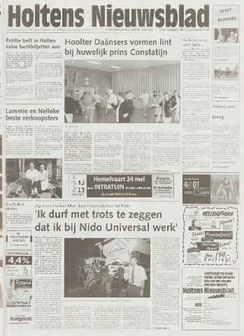 Holtens Nieuwsblad 2001-05-25
