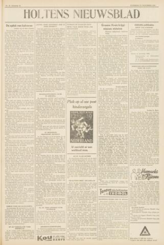 Holtens Nieuwsblad 1958-11-22