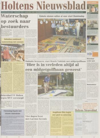 Holtens Nieuwsblad 2004-08-26