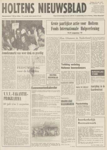 Holtens Nieuwsblad 1977-07-29