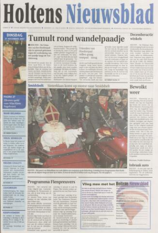 Holtens Nieuwsblad 2007-11-27