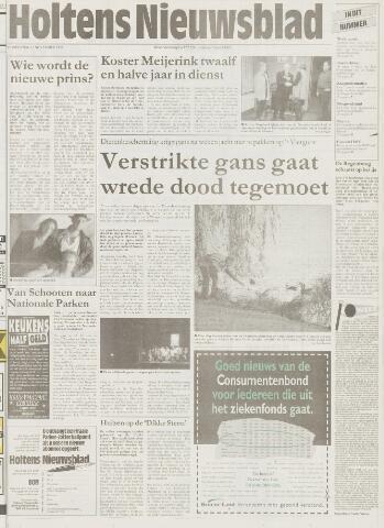 Holtens Nieuwsblad 1997-11-13