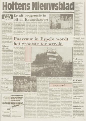 Holtens Nieuwsblad 1987-02-12