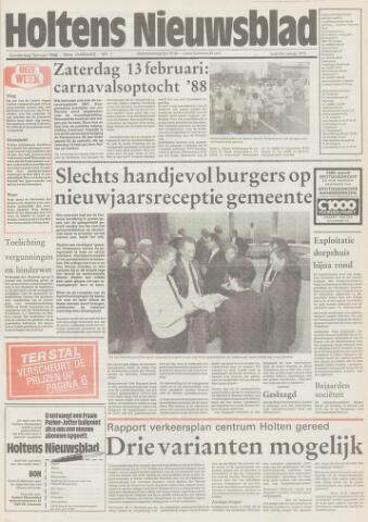 Holtens Nieuwsblad 1988-01-07