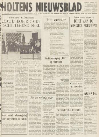 Holtens Nieuwsblad 1975-08-22