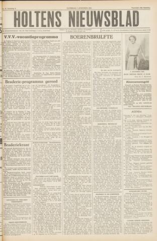 Holtens Nieuwsblad 1954-08-07