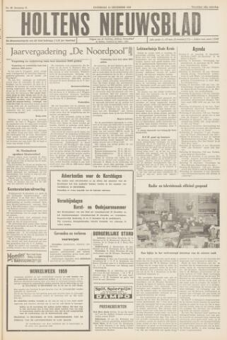 Holtens Nieuwsblad 1959-12-12