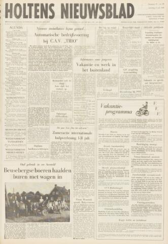 Holtens Nieuwsblad 1968-07-06