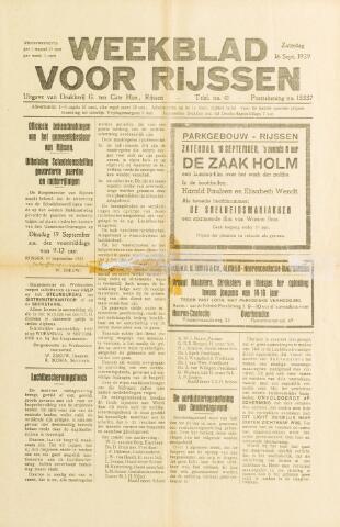 Weekblad voor Rijssen 1939-09-16
