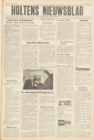 Holtens Nieuwsblad 1964-01-25