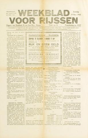 Weekblad voor Rijssen 1938-11-19