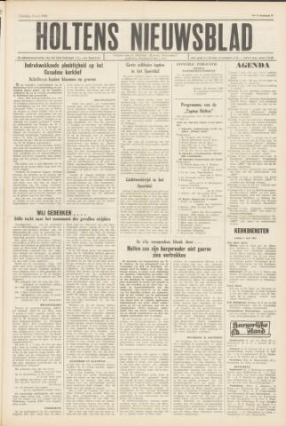 Holtens Nieuwsblad 1965-05-08