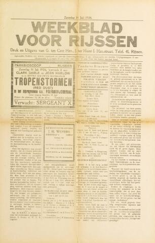 Weekblad voor Rijssen 1934-07-14