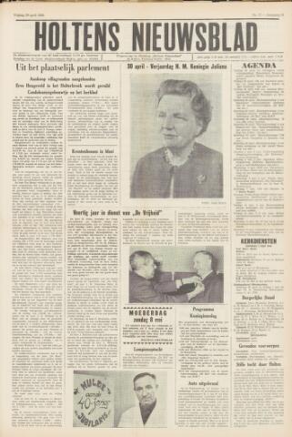Holtens Nieuwsblad 1966-04-30