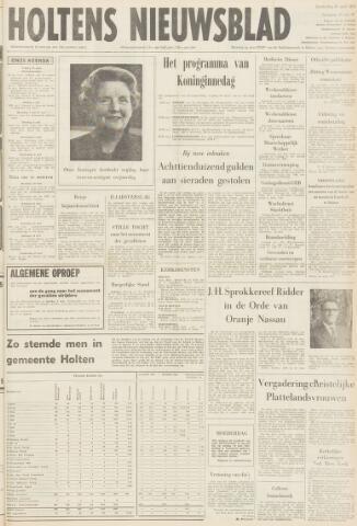 Holtens Nieuwsblad 1971-04-30