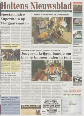 Holtens Nieuwsblad 2004-08-12