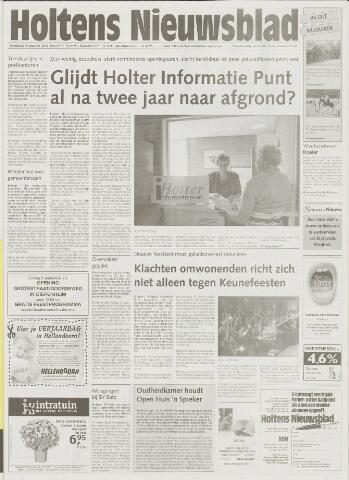Holtens Nieuwsblad 2001-08-30