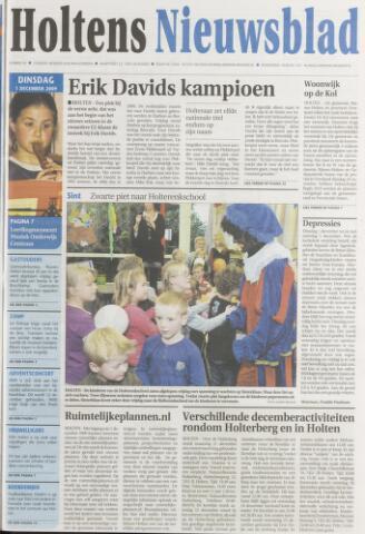 Holtens Nieuwsblad 2009-12-01