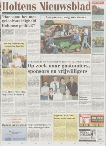 Holtens Nieuwsblad 2003-04-24