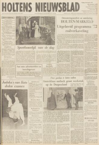 Holtens Nieuwsblad 1971-12-10