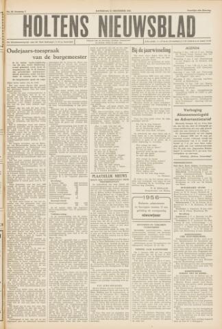 Holtens Nieuwsblad 1955-12-31