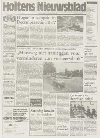 Holtens Nieuwsblad 1992-11-26